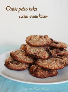 Barackos-csokis paleo keksz