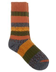 Vanishing Elephant Multi Pattern Socks
