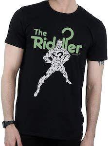 The Riddler Character T-Shirt. Batman T Shirt, Riddler, Green Print, Mens Tops, Shirts, Character, The Riddler, Shirt, Dress Shirts