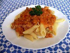 Masová omáčka na těstoviny Chicken, Meat, Food, Essen, Meals, Yemek, Eten, Cubs
