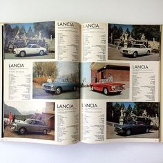 spines and pages thanks to ideabooksltd Love the Lancia pages. Sunday gets started. Auto-Universum. The best automobile car voiture motor annuals there ever were. 1965 this is. 1966 as well this morning. Actual treasure. Drive. Email if you want@idea-books.com #autouniversum #1965 Filed under: ideabooksltd to READ to READ ideabooksltd docenoon InspirePossibility CreateOpportunity CultureOfPossibility EnthusiasmForOpportunity Art Film Technology Fashion Music News Business Politics Anything…