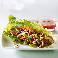 Roulés à la salade de poulet et cajou