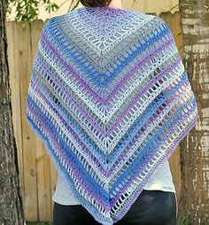 Ravelry: The Lydia Shawl pattern by Denise Crawford