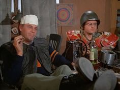 M*A*S*H: Season 1, Episode 20 The Army-Navy Game (25 Feb. 1973) mash, 4077, McLean Stevenson , Lt. Colonel Henry Blake,