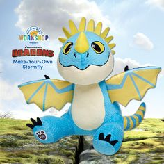 Stormfly has landed at Build-A-Bear Workshop! Find her before she flies away! http://www.buildabear.com/dreamworks-dragons