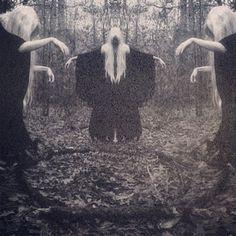 death art Black and White satan satanic baphomet occult occultism Fall Inspiration, Art Magique, Creepy Images, Elfa, Arte Obscura, Psy Art, Season Of The Witch, Mystique, Arte Horror