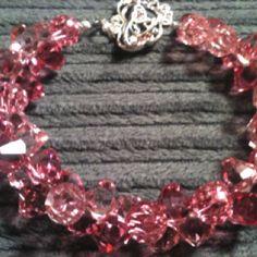 Pretty Pink Swarovski Bracelet!!