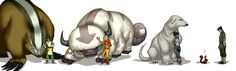 Mostly Mighty Animal Guides by Totalrandomness.deviantart.com
