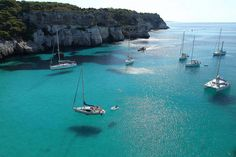 Beauty of Cala Macarella - Minorca Island, Spain !! | See More Pictures | #SeeMorePictures