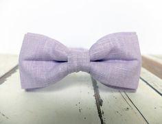 Men's Bow Tie by BartekDesign: pre tied violet by BartekDesign
