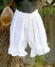 Short Cotton Bloomers Victorian Knickers Cosplay by ItsNotPajamas, $32.00