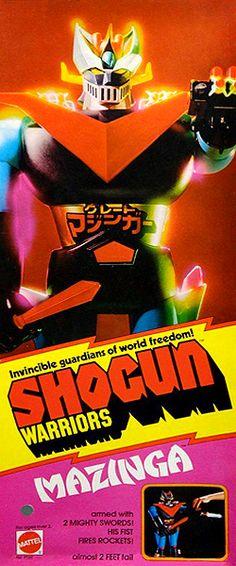 Shogun Warriors - Great Mazinga #toys #vintage #collectibles #japan #robots