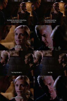 Once again, Spike's expression at the end is perfect. Gets me every time.