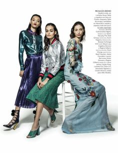 """New Faces"" by Jacques Dequeker for Vogue Mexico January 2016"