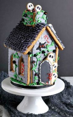 The 11 Best Halloween Gingerbread Houses The Eleven Best