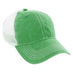 AHEAD Kelly Green Pigment Dyed Mesh Cap