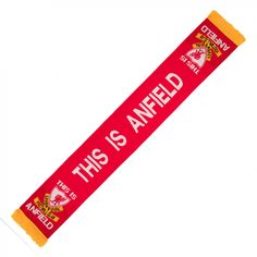 LFC This Is Anfield Scarf | Liverpool FC Official Store