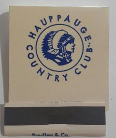 Hauppauge Country Club Matchbook FS Long Island NY Golf Course Vets Hwy 1950s | Collectibles, Paper, Matchbooks | eBay!