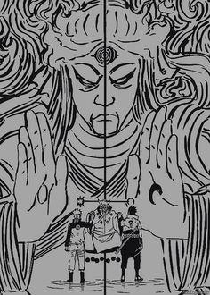 Naruto and Sasuke get power from Sage