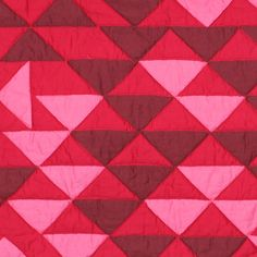 Pink red triangles