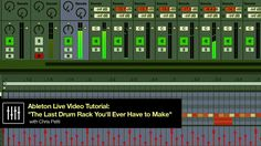 The Last Drum Rack You'll Ever Have to Make - Ableton Live Tutorial - YouTube