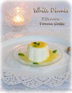 Zitronen Panna Cotta 1