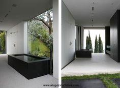 Minimalist architecture house Open-House by XTEN Architecture