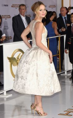 Jennifer Lawrence from The Hunger Games: Mockingjay Premieres | E! Online