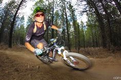 Carolynn shredding Whoops by Dennis Yuroshek