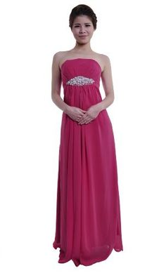 Loveeeeeeee this dress....Moonar Chiffon Strapless Straight Across A Line Prom Formal Gown Party Bridesmaid Wedding Dress Pink Size 10 Moonar, http://www.amazon.com/dp/B008YR2IHO/ref=cm_sw_r_pi_dp_IkMgrb1CP16MC
