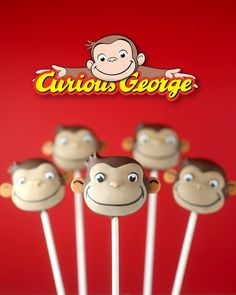 Learn how to make Curious George Cake Pops while you stream your favorite mischievous monkey on Hulu.
