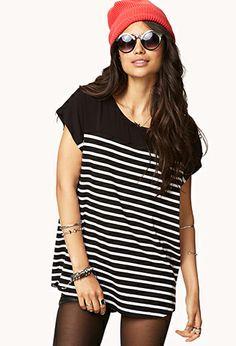 Cool-Girl Striped Dolman Top | FOREVER 21 - 2079677499