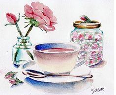 Rose Bud Tea Time
