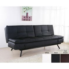 A couch that turns into a chair but does not have to have a mattress pull out from being folded for months. way more comfy