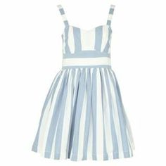 SoulCal Stripe Dress at USC Fashion - perfect for Wimbeldon inspired outfits. 15 Dresses, Summer Dresses, Kids Branding, Spring Summer, Summer 2014, Striped Dress, Fashion Brand, Lady, Inspired Outfits