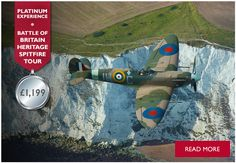 Battle of Britain Heritage Spitfire Tour -   FLY WITH A SPITFIRE