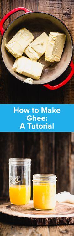 How to Make Ghee | StupidEasyPaleo.com