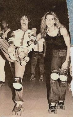 Van Halen on roller skates. Your argument is invalid.