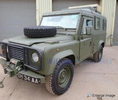 Land Rover , Defender 110 LHD Armoured,