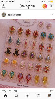 Gel pedicure toes natural ideas for 2019 Gel Manicure At Home, Pedicure Colors, Manicure Y Pedicure, Nail Jewels, Nail Art Rhinestones, Glitter Nail Art, Simple Pedicure Designs, Cruise Nails, Red Toenails