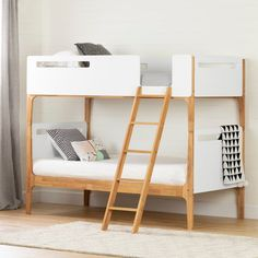Shop for South Shore Bebble Modern Bunk Beds. Get free delivery at Overstock - Your Online Furniture Outlet Store! Get in rewards with Club O! Safe Bunk Beds, Twin Bunk Beds, Kids Bunk Beds, Loft Beds, Convertible Bunk Beds, Convertible Toddler Bed, Modern Bunk Beds, Toddler Furniture, Bed Reviews