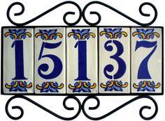 1000 images about tile address frames on pinterest for House number frames
