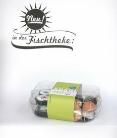 Kaufladenzubehör selber machen: Nr. 7 – Sushi aus Filz