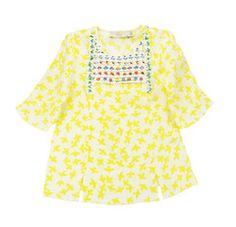 """Daisy"" Dove Print Blouse Stella McCartney Kids"