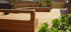 Landscape project by Melbourne's International Garden Concepts - Decks - BBQ area