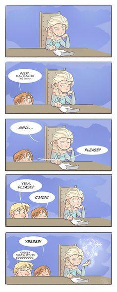 Frozen :)