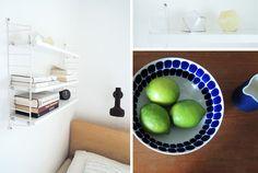 string shelf and arabia finland