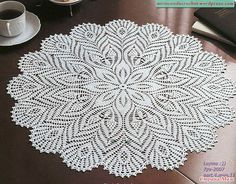 Diagram - could make this as a circular top, doily, skirt, shawl, poncho...
