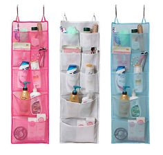 Exceptional Details About Mesh 8 Pocket Quick Dry Bath Shower Caddy Travel Gym Dorm  Hanging Tote