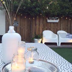 """Annelies op Instagram: """"@dinyterpstra met haar prachtige tuin vroeg mij naar mijn #tuinfavorietje ik maak er tuinfavorieten van: onze tuinstoelen van ikea! Ze…"""""""